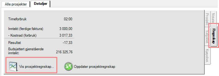 vis_prosjektregnskap